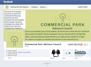 Commercial Park Advisory Council on Facebook