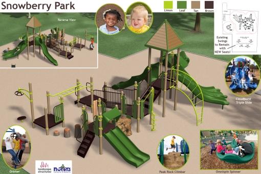 Snowberry Park Re-design