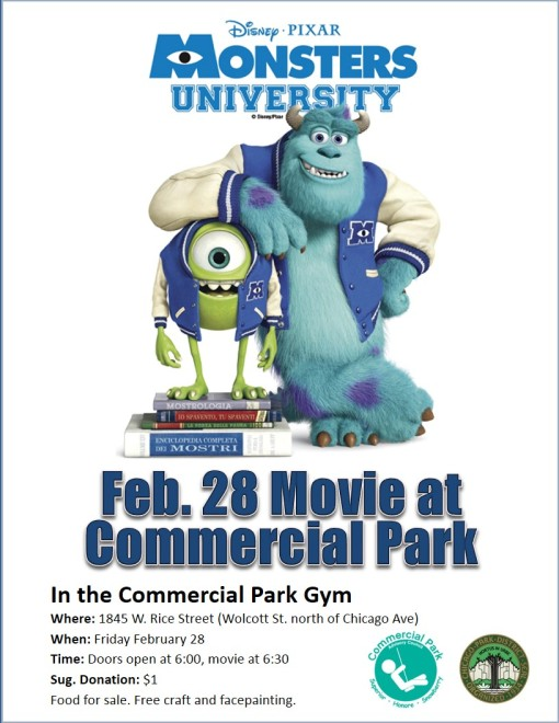 Hope you'll join us for a film and some pizza February 28th!