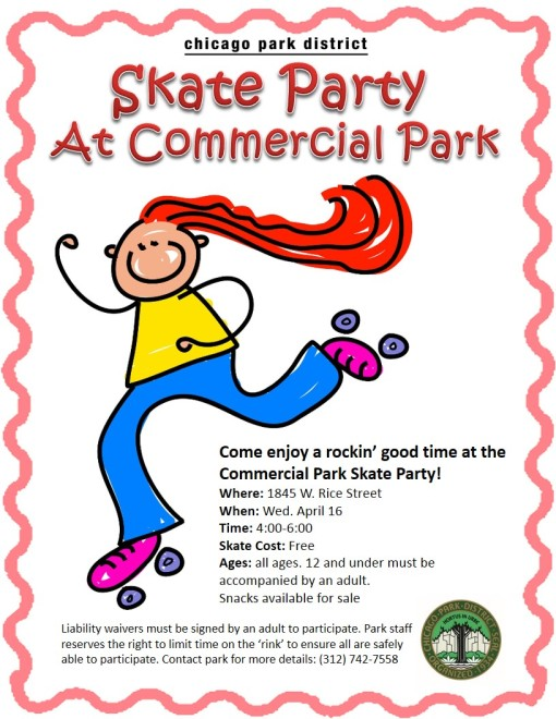 Skate with us this Wednesday!