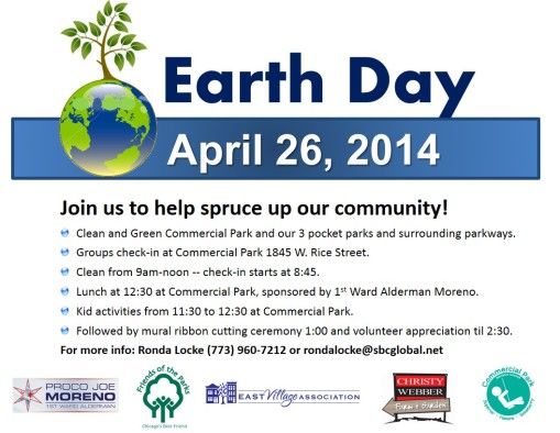 Earth Day events Saturday!