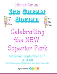 Superior Park Ice Cream Social