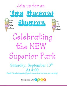 Superior Park Ice Cream Social