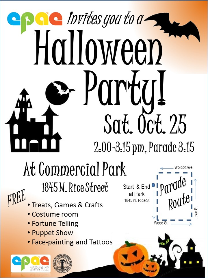 You\'re Invited to our Halloween Party! | Commercial Park