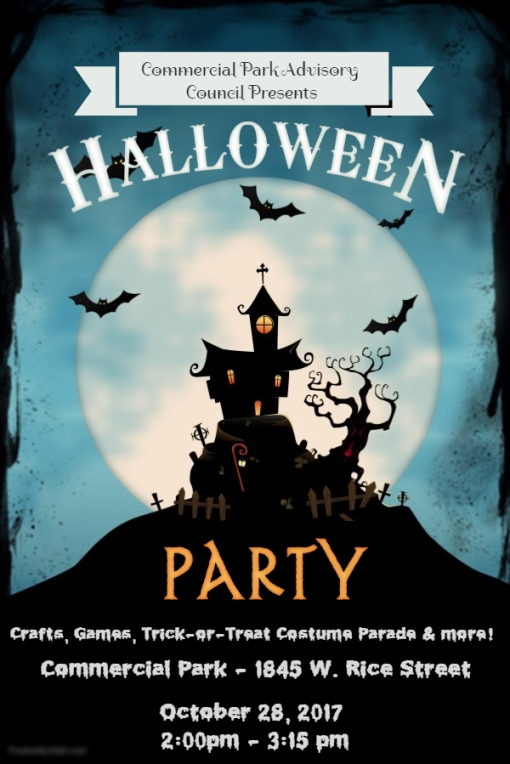 2017 Halloween Night Party Poster