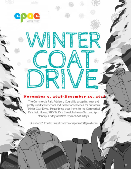 Winter Coat Drive, 2018 copy